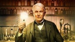 Amerikai feltaláló Thomas Edison